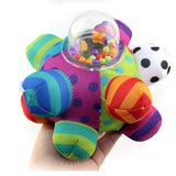Plush Hand Rattle Ball