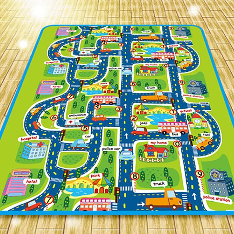 Kids City Play Rug