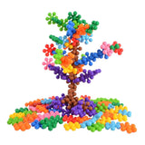 BOHS 120 PCS Click Connect Interlocking Solid Building Blocks Set STEM Educational Toy for Preschool Kids with Gift Bag