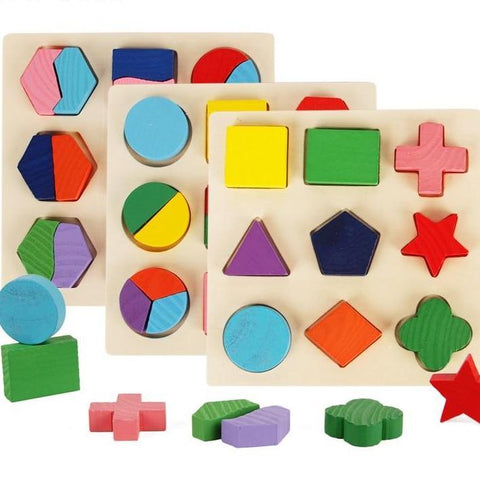 Geometric Jigsaw Puzzle For Many Ages