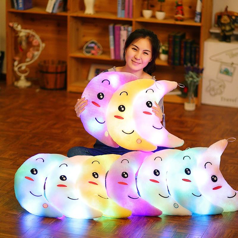 LED Moon Pillows
