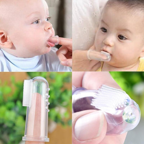 Baby Finger Silicon Toothbrush
