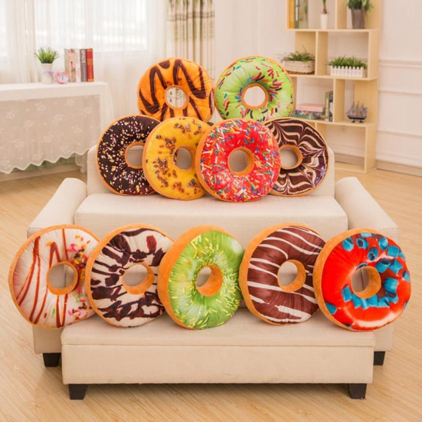 Cute Donut Plush Pillows