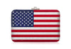 Slim Slide American Flag Clutch