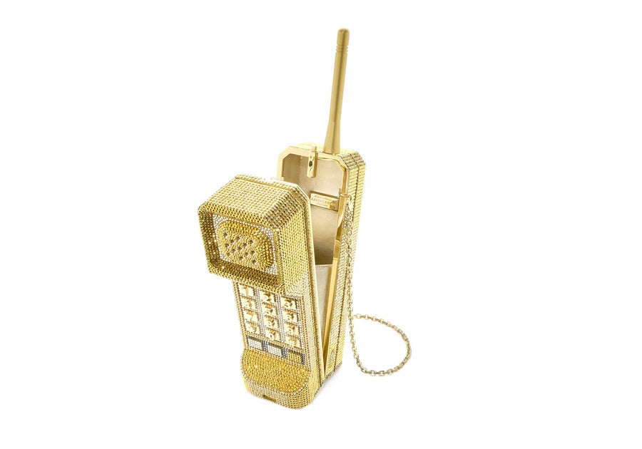 Brick Phone Call Me Gold