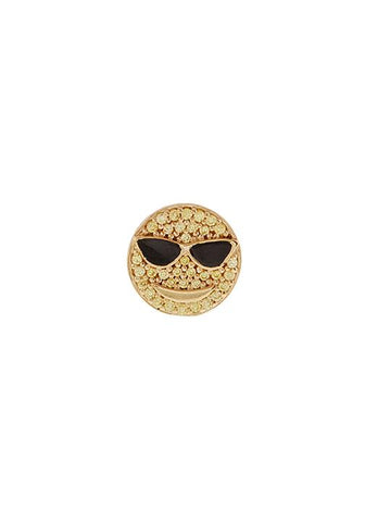 Emoji Cool Daddy Stud Earrings