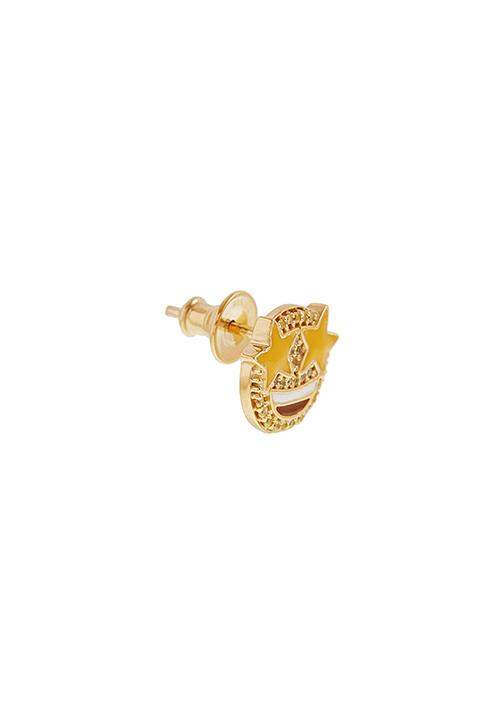 Emoji Starry Eyed Stud Earring