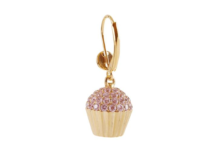 Cupcake Lever Earring