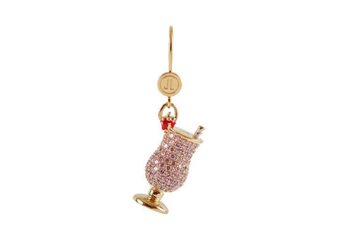 Cocktail Pink Lady Leverback Earring