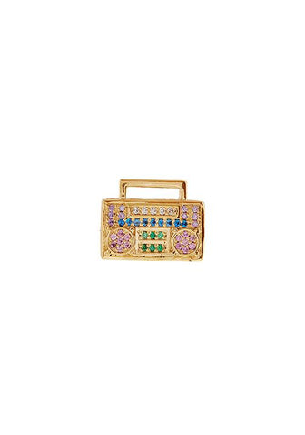 Boombox Brooklyn Mookie Stud Earring