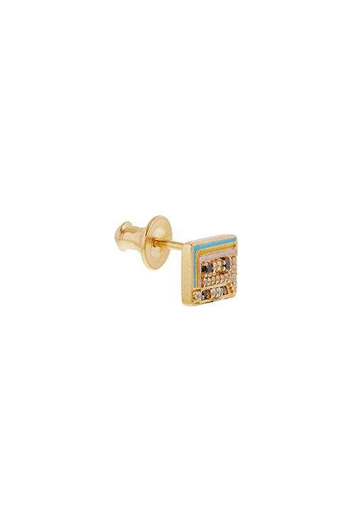 Mixtape Rainbow Mix Stud Earring