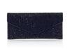 Envelope Navy Crystal Clutch