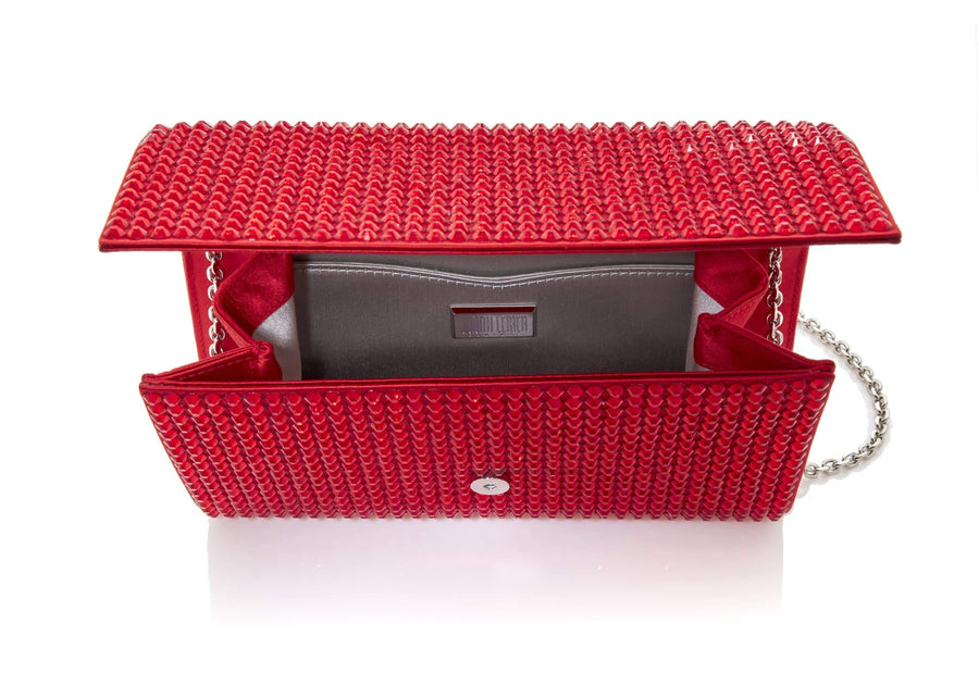 Fizzoni Red Bling Clutch
