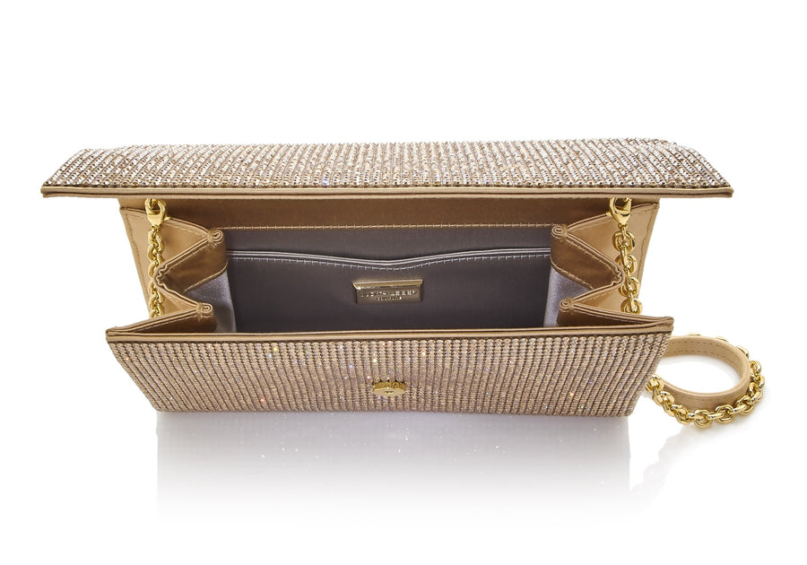 Fizzoni Champagne Crystal Clutch