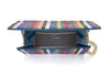 Fizzoni Candy Stripe Crystal Clutch