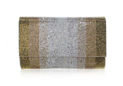 Fizzoni Stripes Clutch