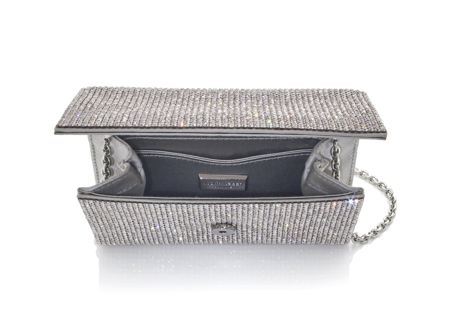 Fizzy Diagonal Stripes Clutch