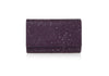 Fizzy Plum Crystal Clutch