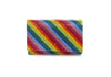 Fizzy Rainbow Stripes Clutch