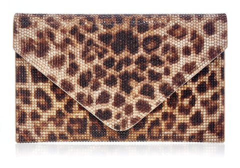 Square Envelope Leopard