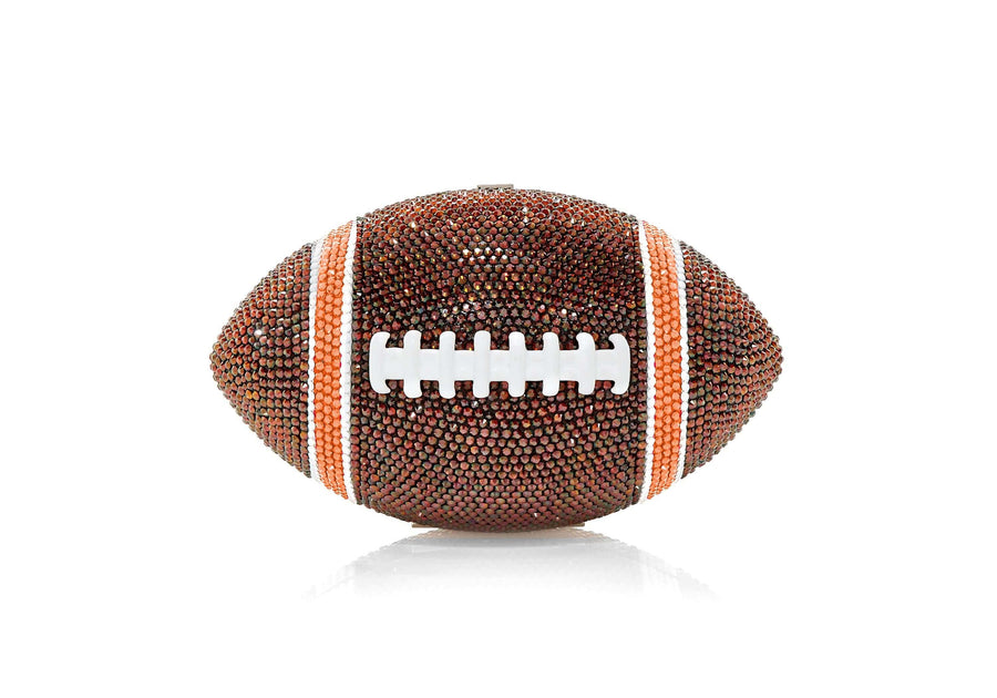 Football Brown and Orange
