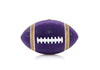 Football Purple and Gold