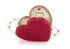 Heart Clutch Red