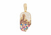 Popsicle Charm Chocolate Drip
