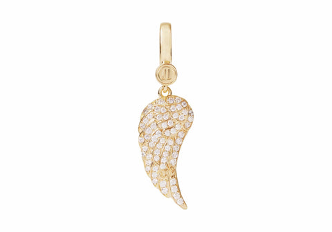 Gabrielle's Angel Wing Charm