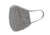 Crystal face mask- Grey