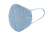 Crystal face mask- Light Blue