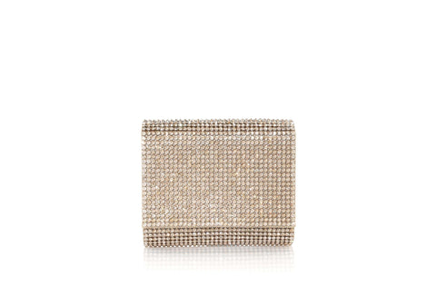 Micro Fizzy Champagne Crystal Clutch
