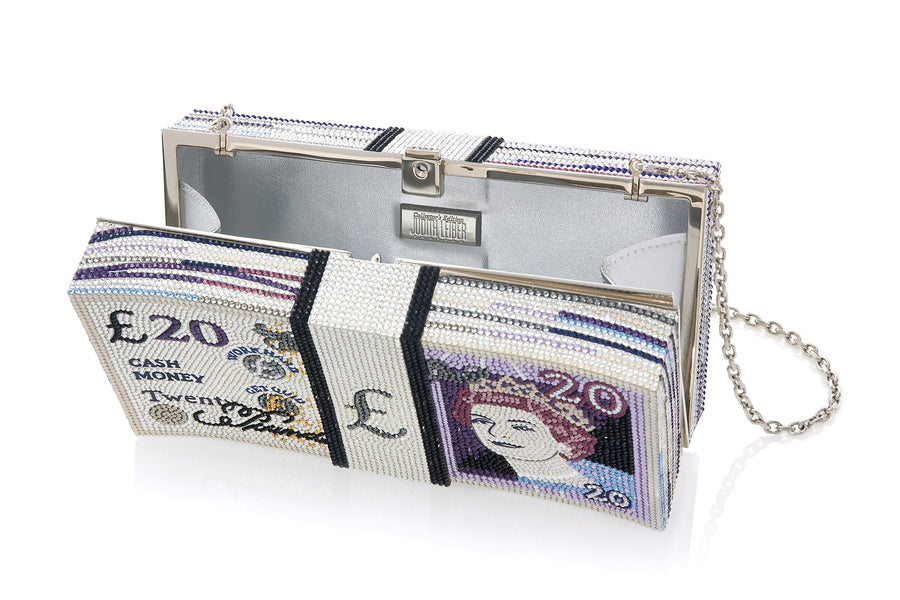 Stack of Cash 20 Pound Note