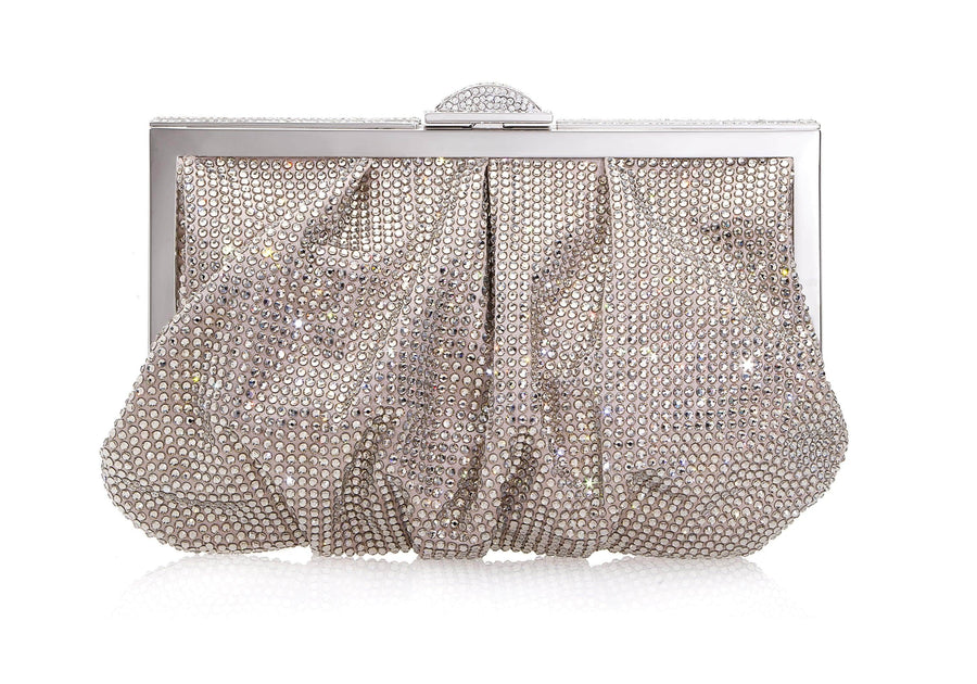 Natalie Prosecco Crystal Clutch
