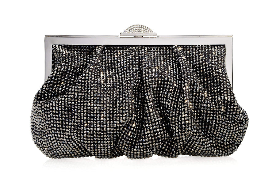Natalie Grey Crystal Clutch