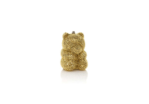 Gummy Bear Pillbox Gold
