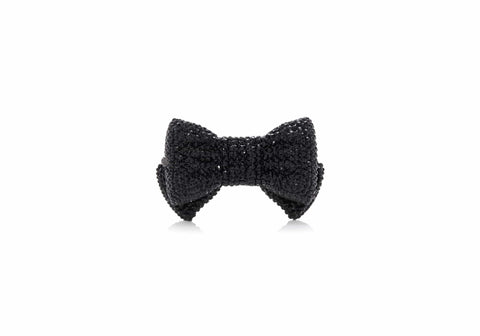 Bow Pillbox Black