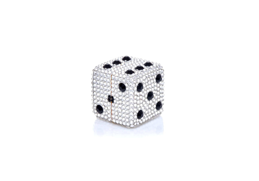 Dice Pill Box Silver