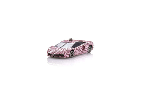 Sports Car Pillbox Pink