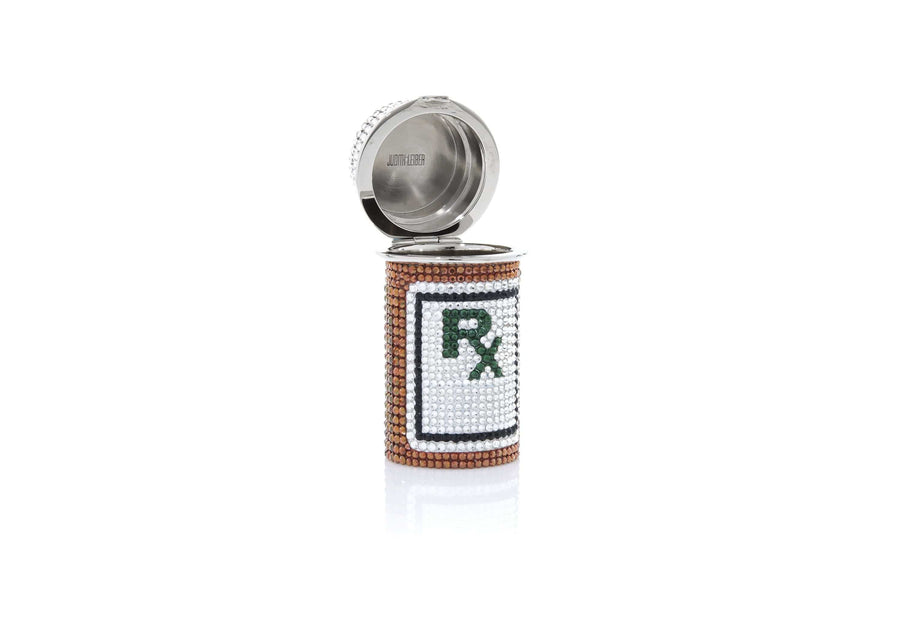 Prescription Bottle Pillbox RX