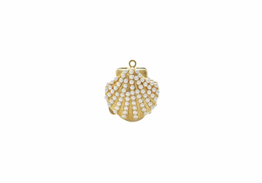 Shell Pillbox Pearly