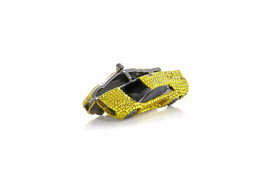 Sports Car Pillbox Yellow