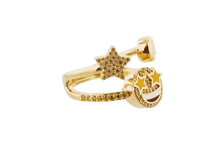 Emoji Ring Starry Eyed