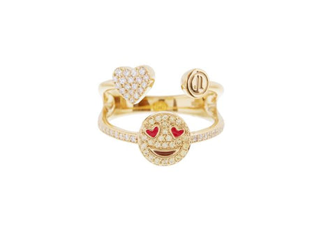 Emoji Ring In Love