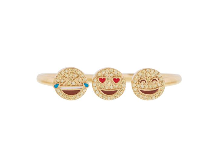 Emoji Knuckle Duster Ring