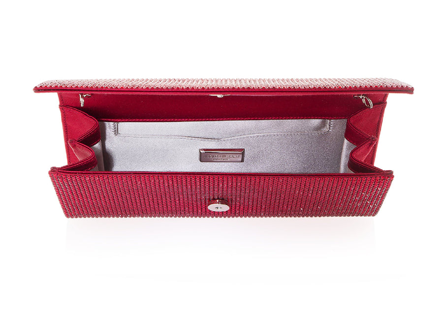Ritz Fizz Red Clutch
