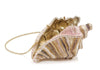 Conch Shell Crystal Clutch