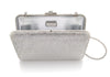 Slim Slide Silver Clutch