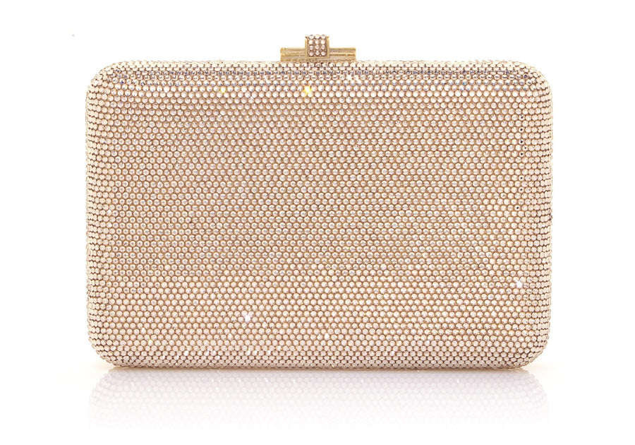 Slim Slide Champagne Clutch