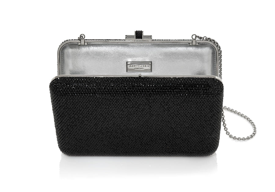 Slim Slide Black Clutch